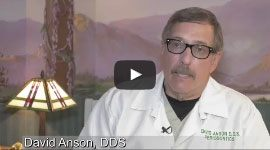 Dr. Anson Discussing Dental Implants Video Still Copy