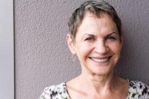 Portrait of smiling older woman